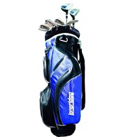 Vector Mens 8 Piece Golf Package Set  Steel/Graphite