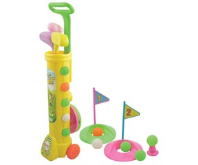 Deluxe Junior Plastic Golf Set