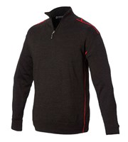 Sunderland Mens Pampero Lined Zip Neck Sweater