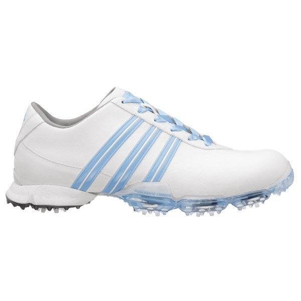 adidas Ladies Signature Collection Paula Golf Shoes (White Blue). Double  tap to zoom. 1  2 90e7770f4