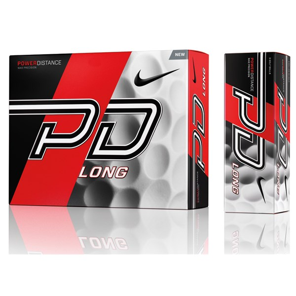 Nike Power Distance PD9 Long Golf Balls (12 Balls)