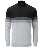 Ping Collection Mens Pearce Lined Half Zip Sweater