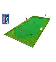 PGA Tour Pro Sized Pebble Beach Putting Green Mat