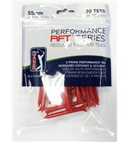 PGA Tour Performance Reduced Friction Tees  30 Pack