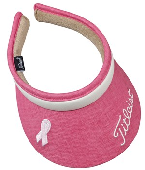 Titleist Ladies Pink Ribbon Golf Visor 2015  60513e8aeb1