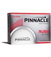 Pinnacle Rush White Golf Balls  12 Balls