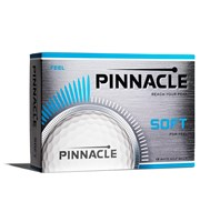 Pinnacle Soft White Golf Balls  12 Balls
