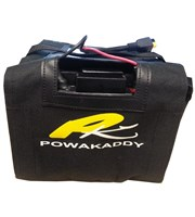 Powakaddy 12v 24A/h Extended 36 Hole Lead Acid Battery  Torberry Connection