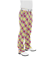 Royal And Awesome Plaid Awesome Golf Trouser