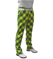Royal And Awesome Mens Plaid Electric Trouser