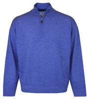 Proquip Mens Merino Wool Unlined Half Zip Sweater