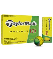 TaylorMade Project Yellow Golf Balls  a 12 Balls