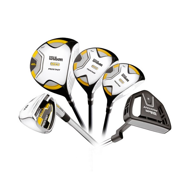 Wilson Prostaff LCG Combo Club Set (Steel/Graphite)