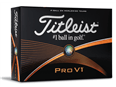Titleist Pro V1 Golf Balls 2015 - Personalised Buy 3 get 1 Free  12 Balls