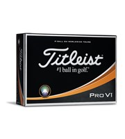 Titleist Pro V1 High Number Golf Balls 2017  12 Balls