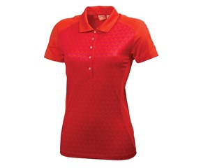 Puma Golf Ladies Mini Graphic Polo Shirt