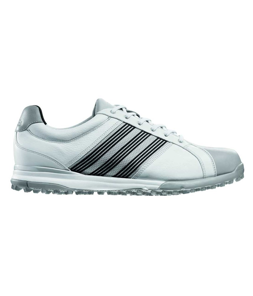 Adidas Mens Adicross Tour Spikeless Golf Shoes WhiteBlack
