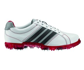 Adidas Mens Adicross Tour Golf Shoes  White/Red