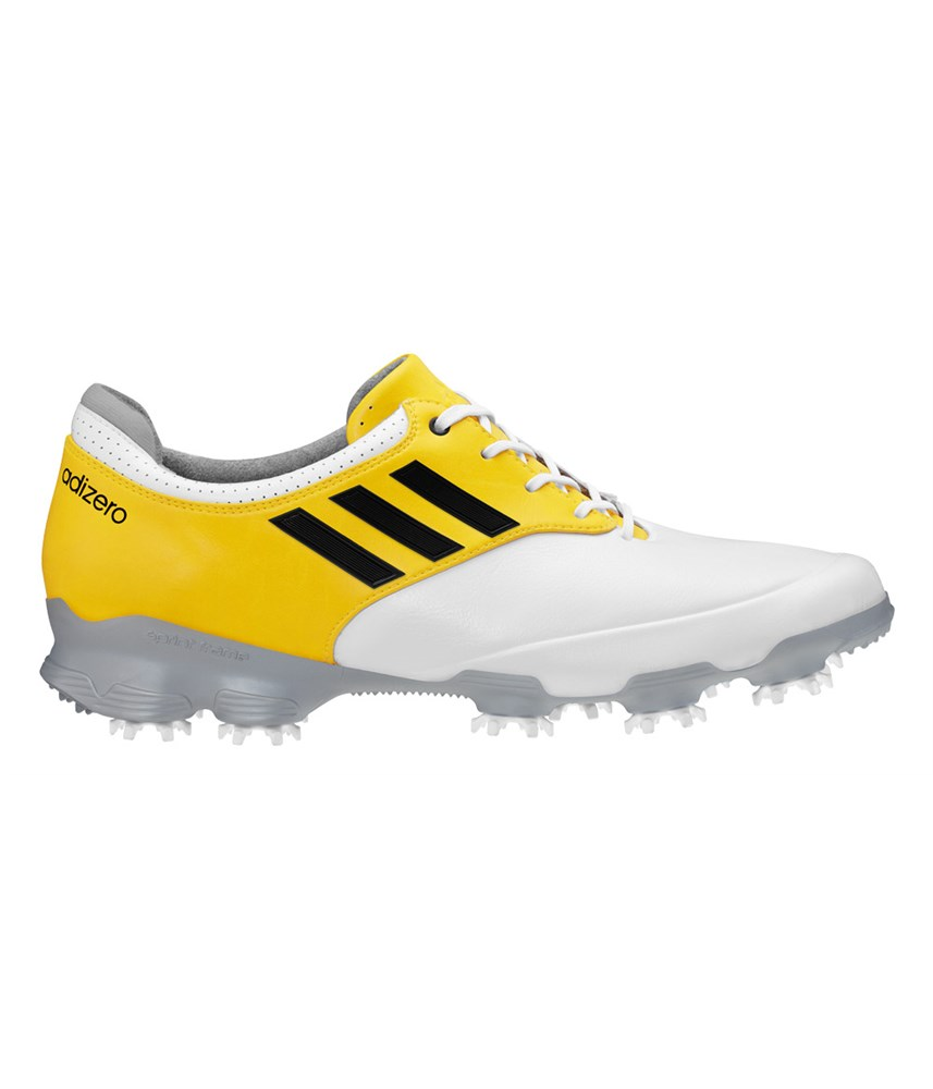 Adizero Yellow Golf Shoes