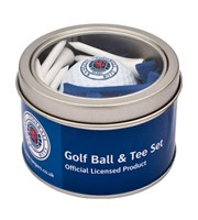 Rangers Golf Ball And Tee Set