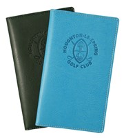 Belluno Scorecard Wallet  Embossed Logo