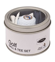 Real Madrid Golf Ball And Tee Set