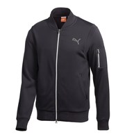 Puma Golf Mens Wave Knit Full Zip Jacket