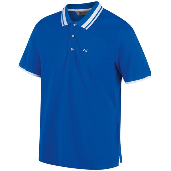 Regatta Mens Talcott CoolWeave Cotton Polo Shirt