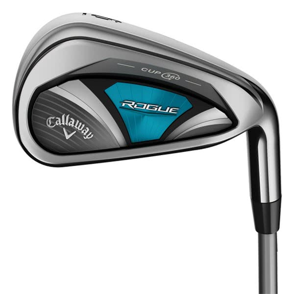 Callaway Ladies Rogue Irons (Graphite Shaft)