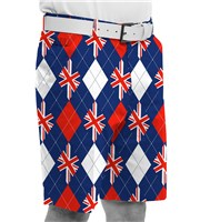 Royal And Awesome Trew Brit Golf Shorts