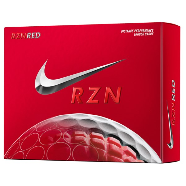 Nike RZN Red Golf Balls (12 Balls)