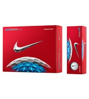 Nike RZN Speed Red Golf Balls  12 Balls