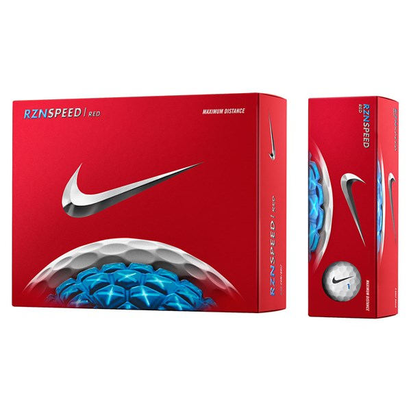 Nike RZN Speed Red Golf Balls (12 Balls)