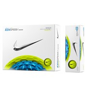 Nike RZN Speed White Volt Golf Balls  12 Balls