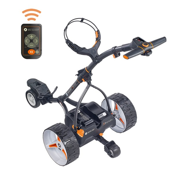 Motocaddy S7 Remote Electric Trolley with Lithium Battery 2019