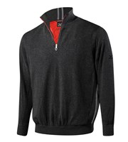 Mizuno Mens Windproof Zip Neck Lined Sweater 2014