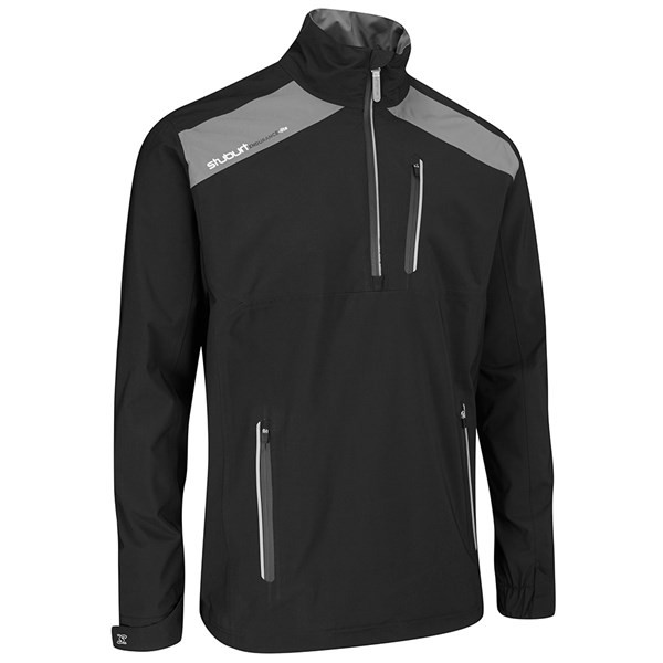 Stuburt Mens Endurance Lite Half Zip Waterproof Jacket