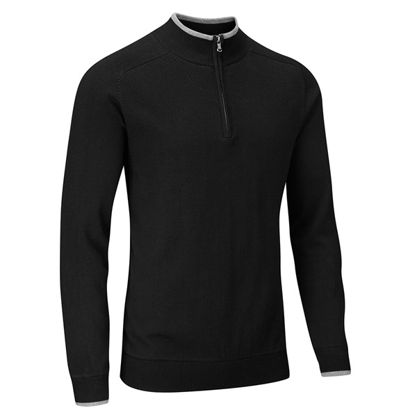 Stuburt Mens Vapour Casual Half Zip Lined Sweater