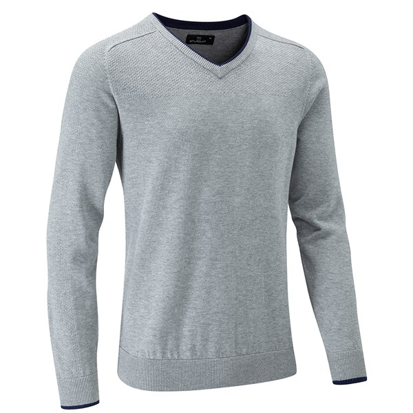 Stuburt Mens Vapour Casual V Neck Sweater