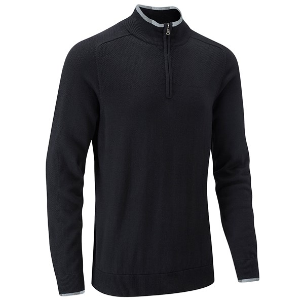 Stuburt Mens Vapour Casual Zip Neck Sweater