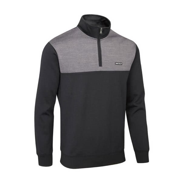 Stuburt Mens Pro Sport Zip Neck Performance Sweater