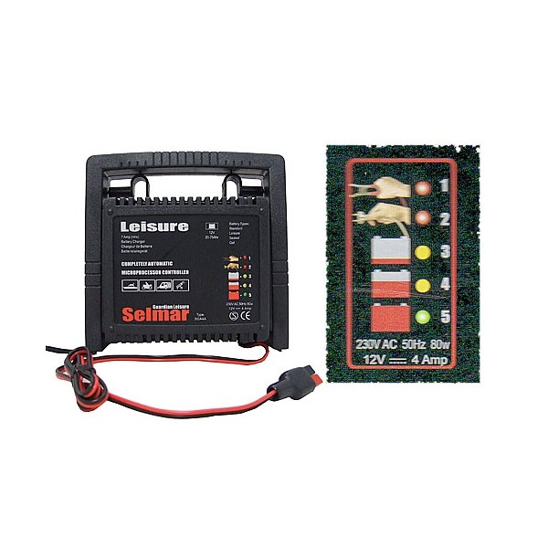 Selmar Automatic Battery Charger (4amp)