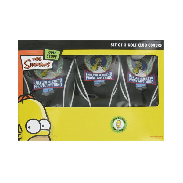 Simpsons Headcover Collection (3 Pack)