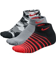 Nike Junior Tech Low Cut Socks  3 Pairs
