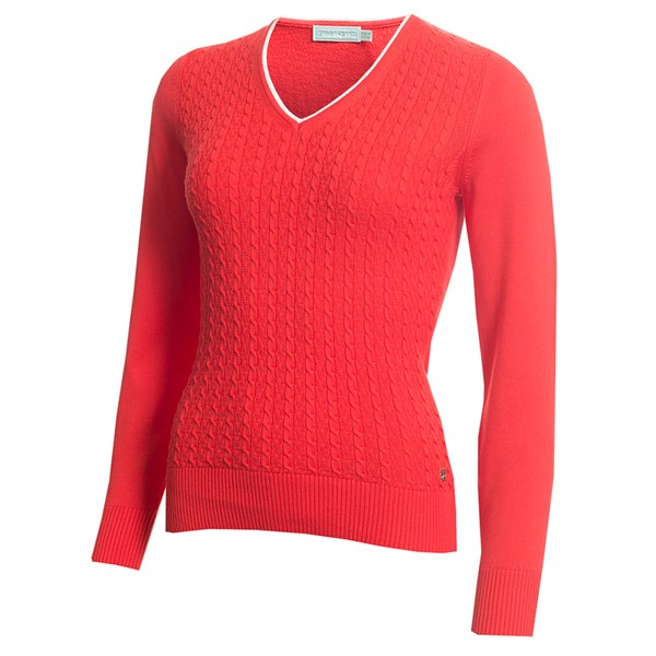 Green Lamb Ladies Gerda Cable Sweater Golfonline