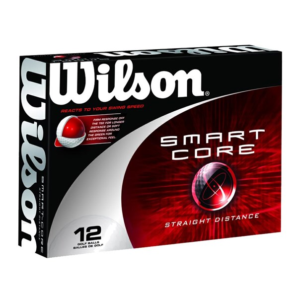 Wilson Smart-Core Straight Distance Golf Balls (12 Balls)