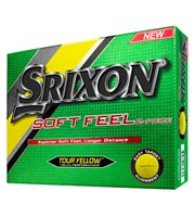 Srixon Soft Feel Yellow Golf Balls 2016  12 Balls