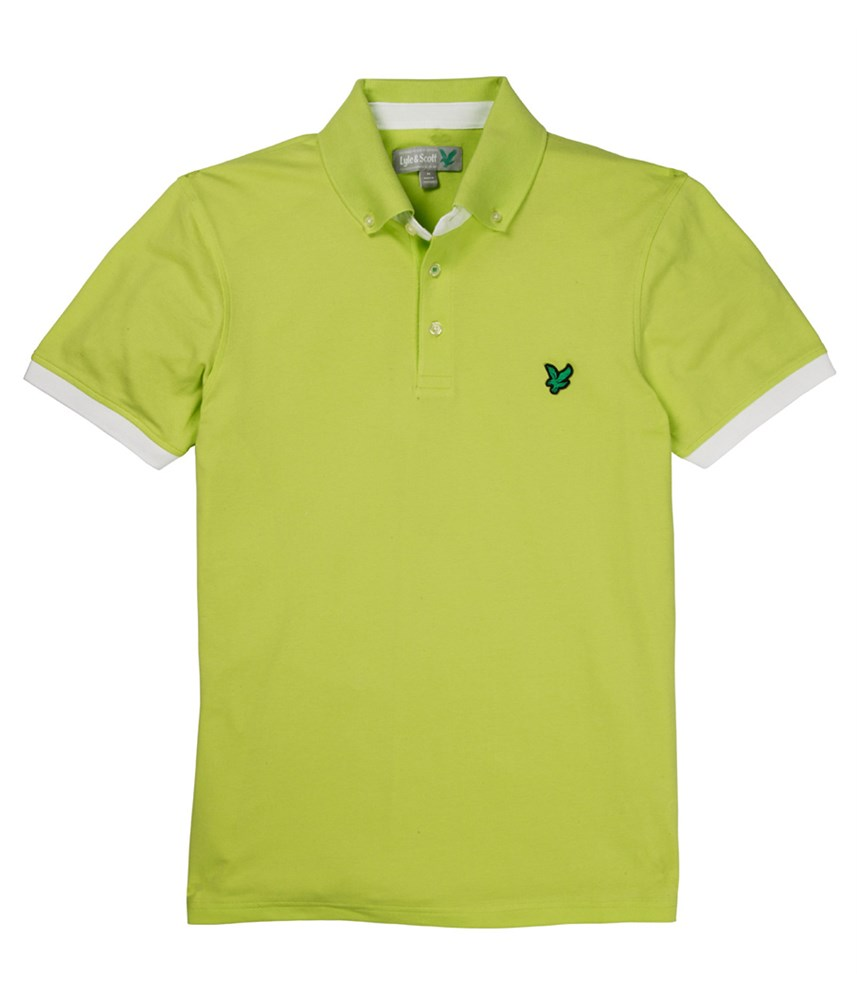 Lyle And Scott Mens Button Down Collar Polo Shirt 2014