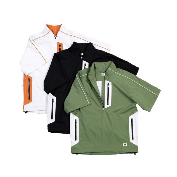1c49d7ff FootJoy Mens DryJoys Sport Short Sleeve Rain Shirt. Double tap to zoom