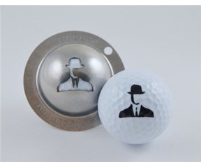 Tin Cup Ball Marker - Spy Game